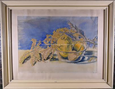 Ludvika Smrčková - Zátiší s ovocem