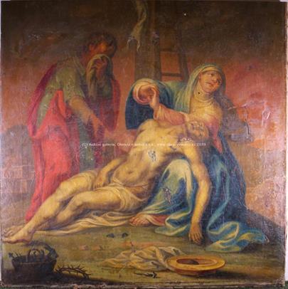 Střední Evropa 19. stol. - Oplakávání krista - pieta
