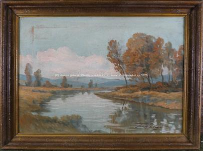 František Horký - U řeky