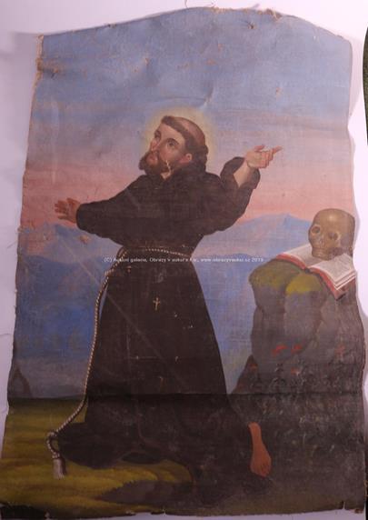 Střední Evropa 19. stol. - Sv. František z Assisi