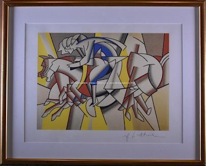 Roy Lichtenstein - Dostihy