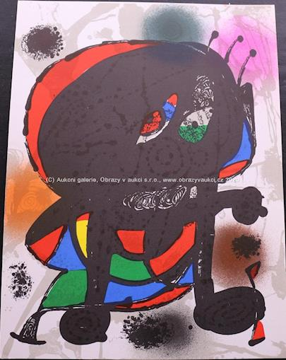 Joan Miró - Postava