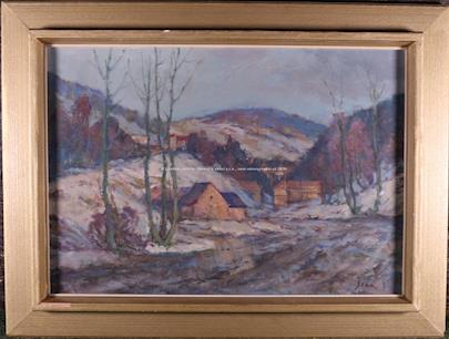 Josef Šlár - Tání v Černém dolu