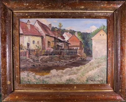 Rudolf Škudla - Stránka ve Vlach. Březí