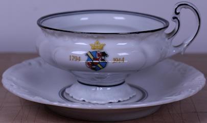 značeno Thun Klášterec - Jubilejní šálek s podšálkem
