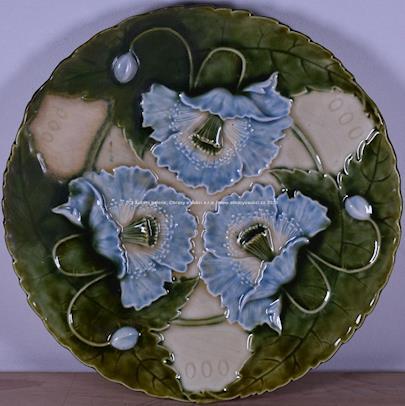 Značeno Schütz Cilli - Secesní talíř