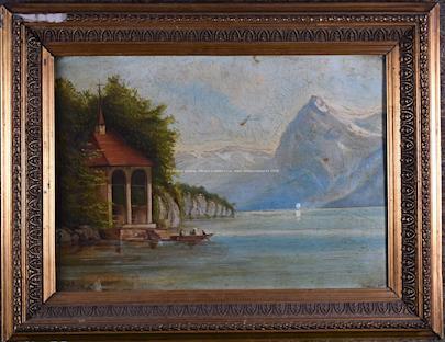 J. Knobloch - Horské jezero