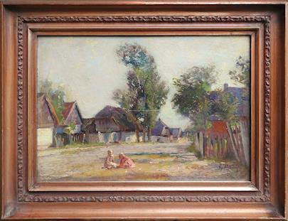 Gustav Mallý - Vesnice