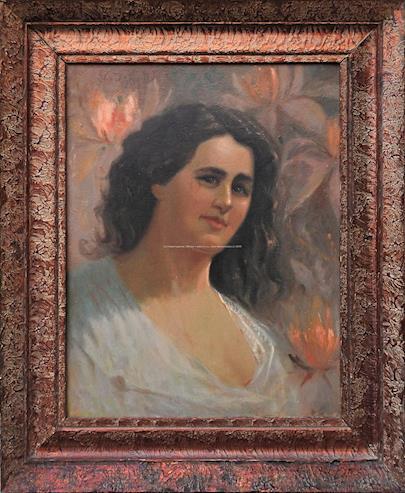 Dominik Skutecký - Portrét ženy