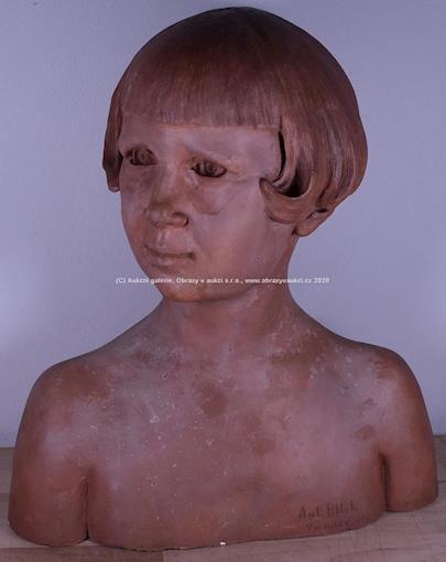 Antonín Bílek - Zasněná dívka
