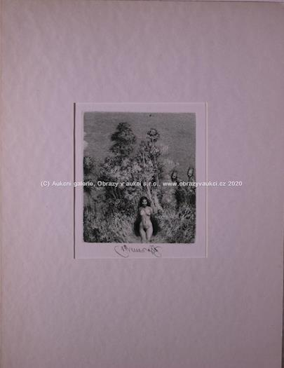 Albín Brunovský - Akt v lese