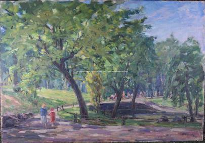 František Vlach - Procházka parkem