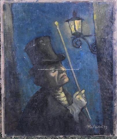 František Ketzek - Lampář