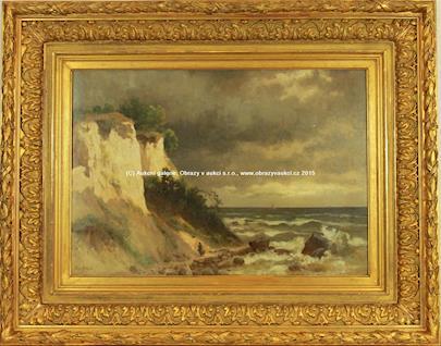 Bertha von Grab - Bílé útesy na Rujaně