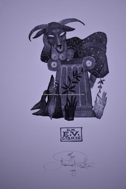 Marina Richter - Ezopovy bajky - soubor 4 litografií