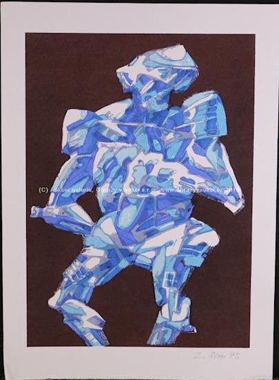 Zbyšek Sion - Modrá postava