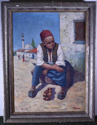 Chorjak - Mladý prodavač
