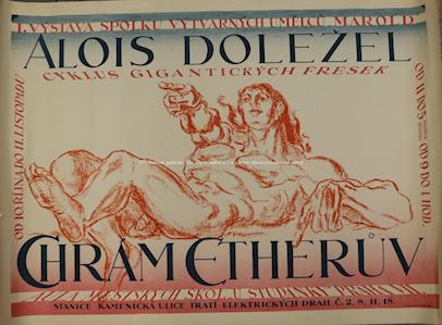M.Schulz - 1. výstava spolku výtvarných umělců Marold