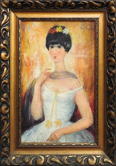 Grigorij Musatov - Portrét ženy