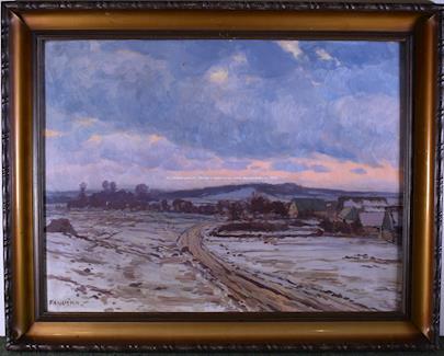Jaroslav Panuška - Zimní krajina