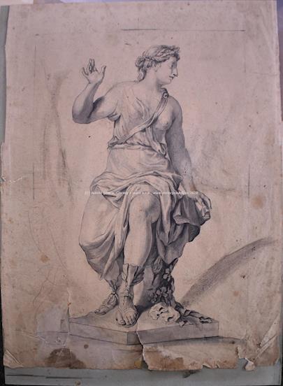 Vincenzo Gajjasi - Křesťanské katakomby a Antická socha