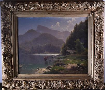 Adolf Chwala - Rybaření na horském jezeře