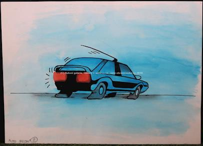 Kája Saudek - Auto brzdí