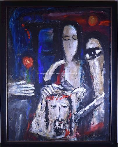 Josef Jíra - Svatá Veronika VELKÝ FORMÁT
