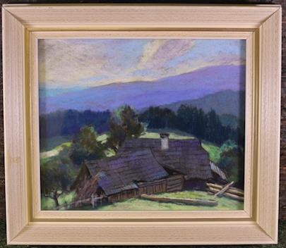 Josef Hurt - Chalupy pod horami
