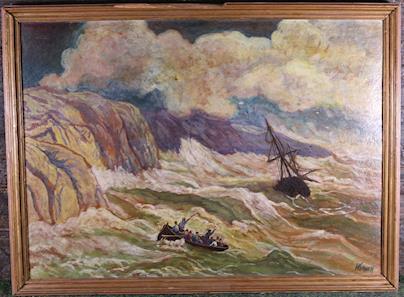 Werner - Rozbouřené moře