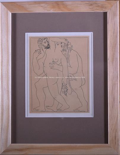 Pablo Picasso - Vertumne poursuit Pomone de son amour