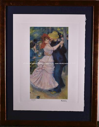 Auguste Renoir - Tanec v Bougivalu