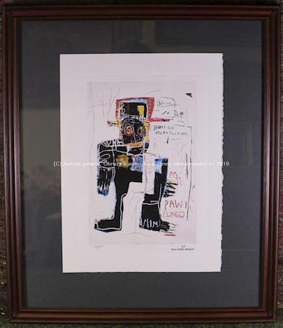 Jean - Michel Basquiat - Irony of the negro policeman