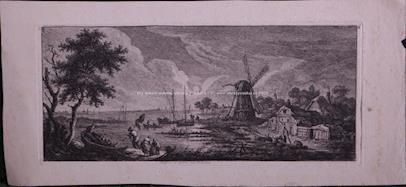 F.F. Weirotter - 6x Holandská krajina