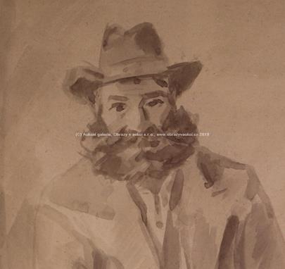 Jan Kojan - Muž v klobouku