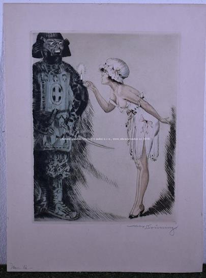 Max Brünning - Samuraj a dívka