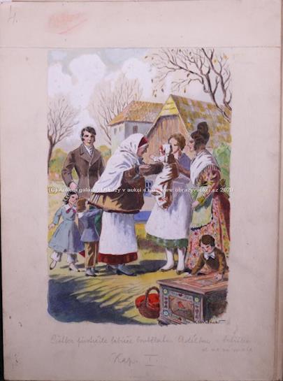 Václav Klimánek - Ilustrace ke knize Babička