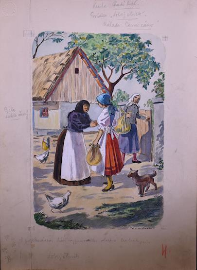 Václav Klimánek - 18 ilustrací k pohádkám a povídkám, 30. léta 20. stol.