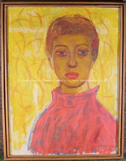Irena Dědičová - Autoportrét