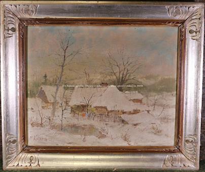 Miroslav Kučera - Chalupy pod sněhem