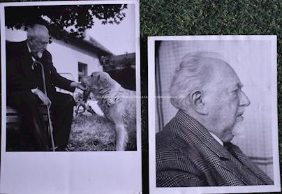 ČTK - Soubor 15-ti fotografií a jedno parte Maxe Švabinského