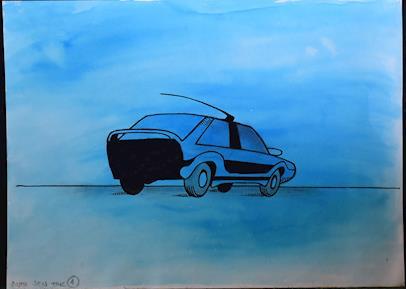 Kája Saudek - Auto jen tak
