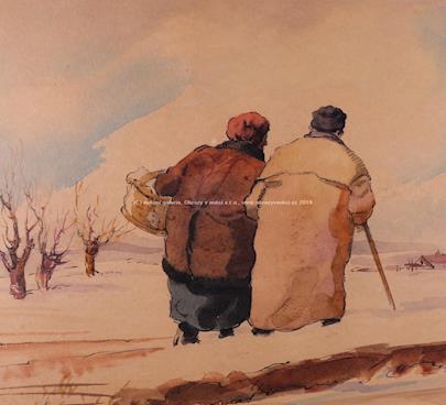 Josef Vodrážka - Na procházce