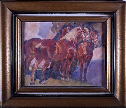 Horník - Koně