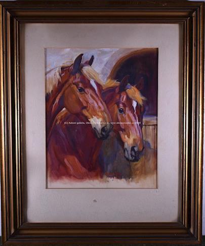 Horník - Hlavy koní