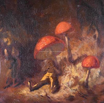 Miloslav Beránek - Snění pod mochomůrkami