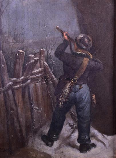 Quido Mánes - Mladý lovec