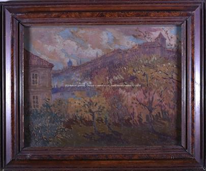 Gustav S. Maran - Pohled na hrad