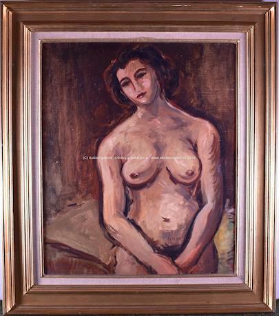 Achille-Emile Othon Friesz - Andree, Femme de l´Artiste