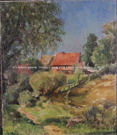 Vinogradov - Krajina s domem